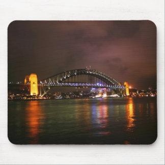 De Brug van de Haven van Sydney bij Nacht Muismat