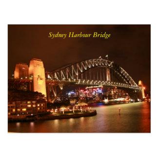 De Brug van de Haven van Sydney Briefkaart