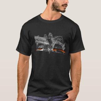 De Brug van de Haven van Sydney, de Hemel van de T Shirt
