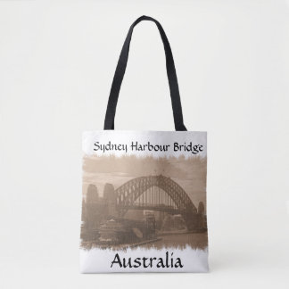 De Brug van de Haven van Sydney, de zak van Draagtas