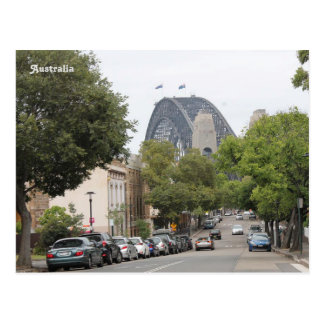 De Brug van de Haven van Sydney, Nieuw Zuid-Wales, Briefkaart
