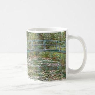 De Brug van de Kunst van Monet over een Vijver van Koffiemok