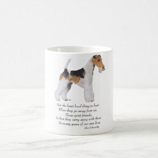 De Brug van de Regenboog van de Fox-terrier van de Koffiemok
