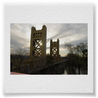 De Brug van de toren Poster