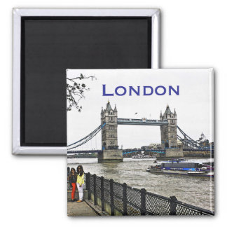 De Brug van de Toren van Londen Vierkante Magneet
