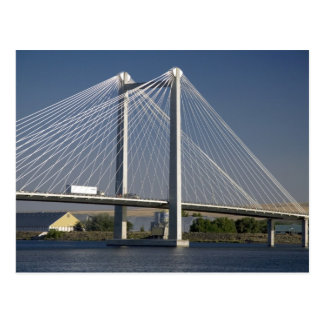 De brug van ED Hendler overspant de Rivier van Briefkaart