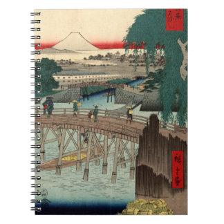 De Brug van Ichikobu Ringband Notitieboek