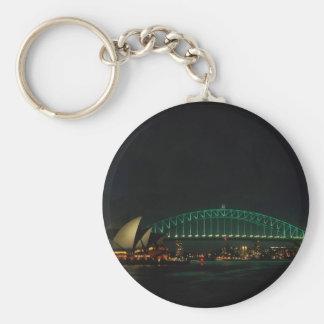 De Brug van Sydney en het Huis van de Opera bij Sleutelhanger