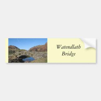 De Brug van Watendlath Bumpersticker
