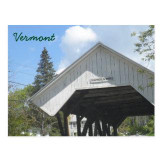 De Brug Vermont van Chamberlin Briefkaart