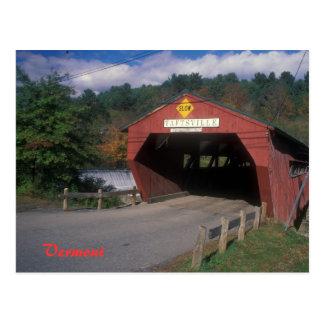 De Brug Vermont van Taftsville Briefkaart
