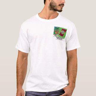 De brug, Zak rangschikte Afdruk T Shirt