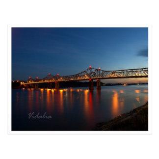 De Bruggen van de Rivier van de Mississippi Briefkaart