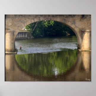 De bruggen van Wenen, Limoges Poster