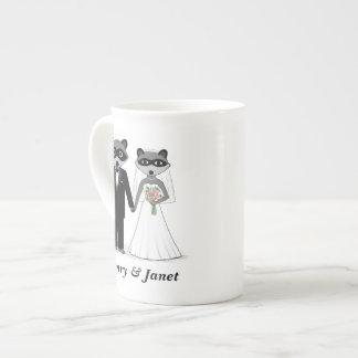 De Bruid en de Bruidegom van het Huwelijk van Theekop