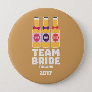 De Bruid Finland van het team 2017 Zk36v Ronde Button 4,0 Cm