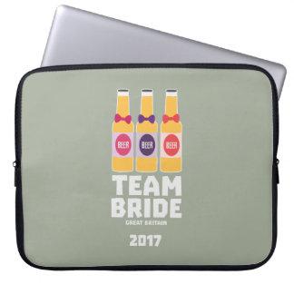 De Bruid Groot-Brittannië van het team 2017 Zqqh7 Computer Sleeve