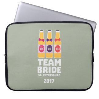 De Bruid St. Petersburg van het team 2017 Zuv92 Laptop Sleeve