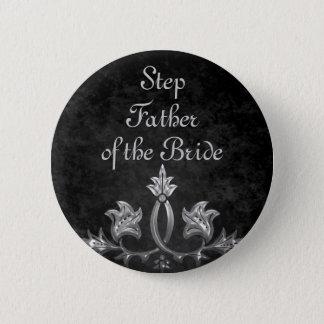 De bruid van de Vader van de Stap van het huwelijk Ronde Button 5,7 Cm