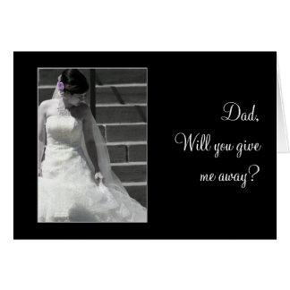 De Bruid van het huwelijk Briefkaarten 0