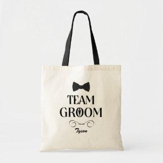 De Bruidegom van het team - Groomsmen van de Draagtas