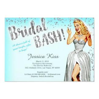 De bruids Partij van de Vrijgezellin van de Bruid Kaart