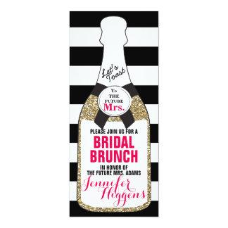 De bruids Uitnodiging Champagne van het