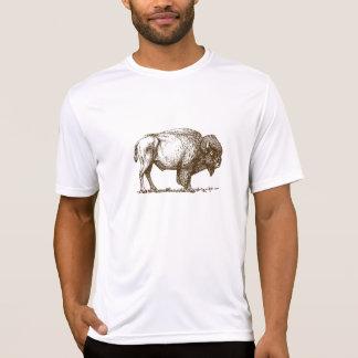 De bruine Buffels van de Bizon T Shirt