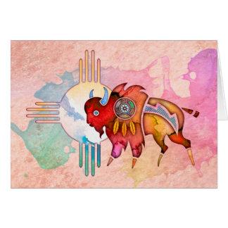 De Buffels Lege Notecard van de geest Briefkaarten 0
