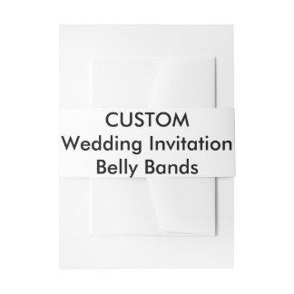 De Buik van de Uitnodiging van het Huwelijk van de Uitnodigingen Wikkel