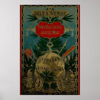 De Buitengewone Reizen van Jules Verne Poster