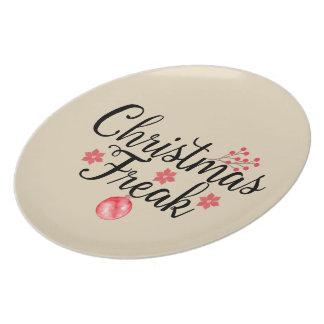 De Buitenissige Typografie van Kerstmis Bord