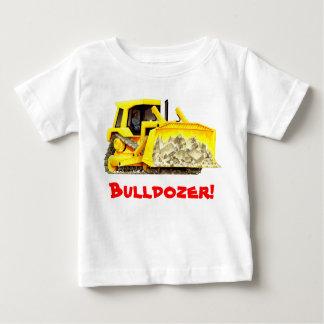 De Bulldozer van de Vrachtwagens van de Bouw van Baby T Shirts