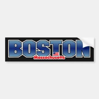De Bumper van de Massa van Boston Bumpersticker