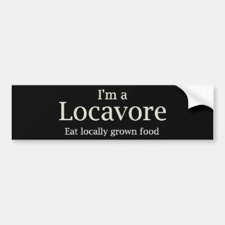 De bumper van Locavore ~ Bumpersticker