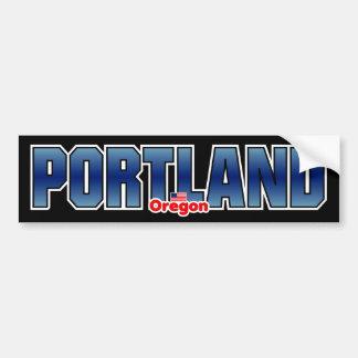 De Bumper van Portland Bumpersticker