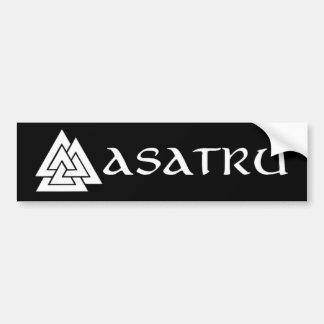 De bumpersticker van Asatru