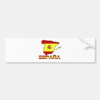 De bumpersticker van España