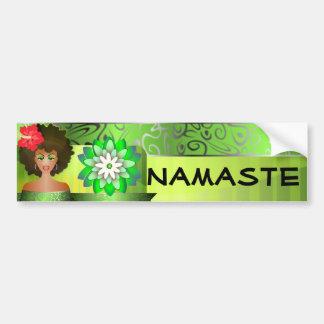 De bumpersticker van Namaste