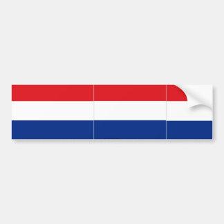 De bumpersticker van Nederland