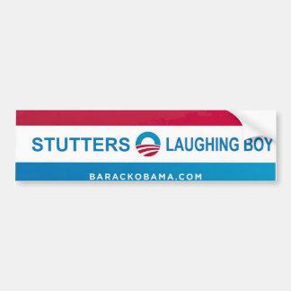 De bumperstickers van Biden van Obama voor verdedi