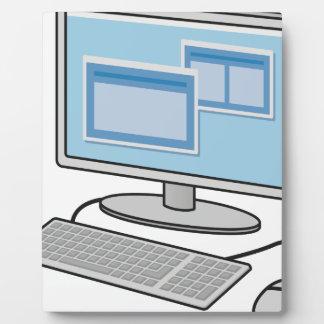 De Bureaucomputer van Fotoplaat