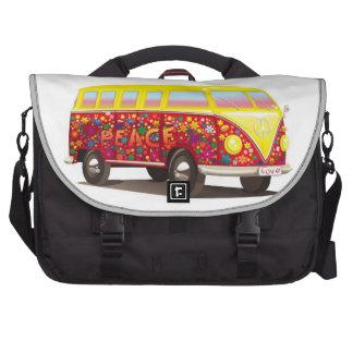 De Bus van de hippie Reistas Voor Laptop