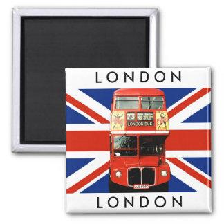 De Bus van de Magneet w. Londen van de koelkast en