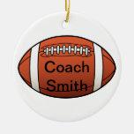 De Bus van het football Kerst Ornamenten