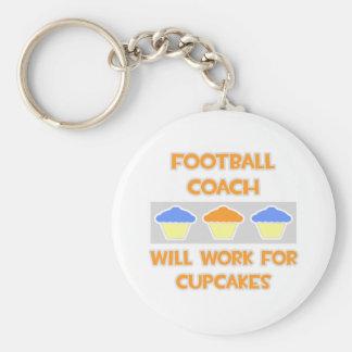 De Bus van het football… Voor Cupcakes zal werken Sleutelhangers