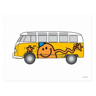 De Bus van het kietelend gevoel Briefkaart