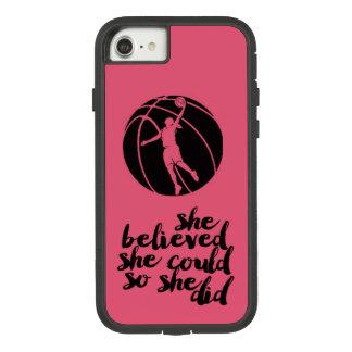 De Bus van het Meisje van de Tiener van Girly van Case-Mate Tough Extreme iPhone 8/7 Hoesje