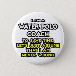 De Bus van het Polo van het water. Veronderstel Ik Ronde Button 5,7 Cm
