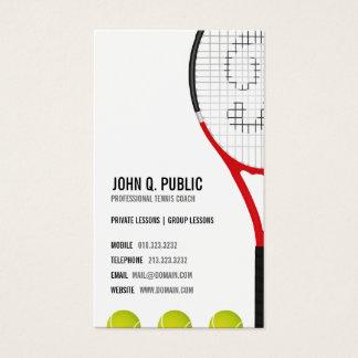 De Bus van het tennis Visitekaartjes